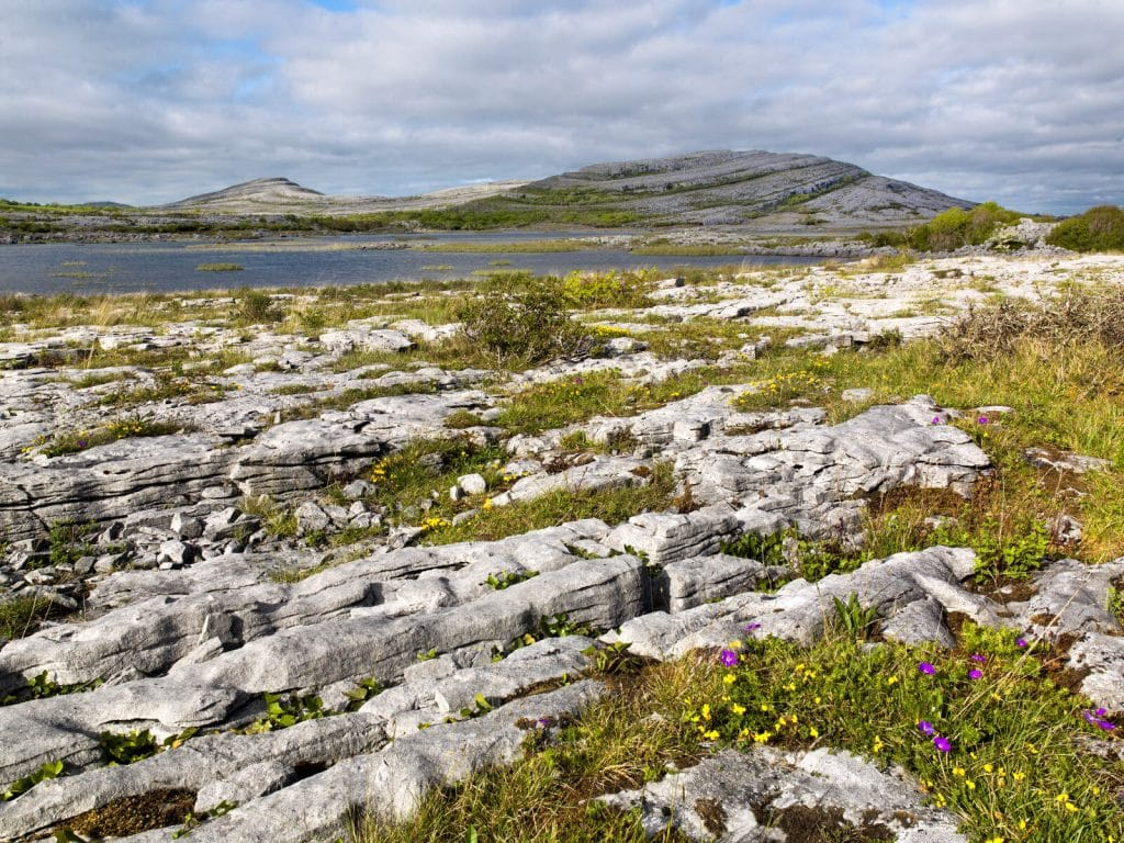 The Burren is one of the most epic ancient sites in Ireland.