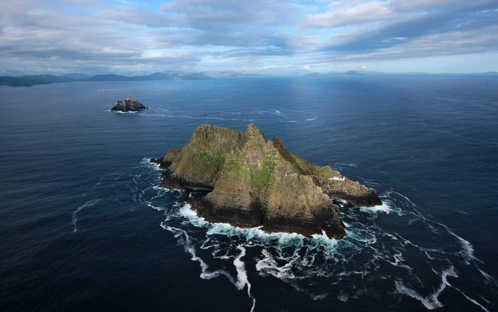 Skellig Michael is perfect for an epic adventure.