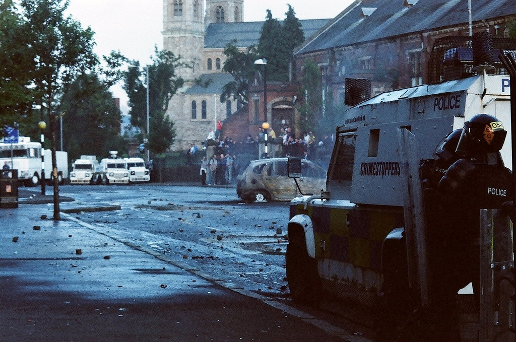 Being insensitive about the troubles is one of the things you should never do in Belfast.