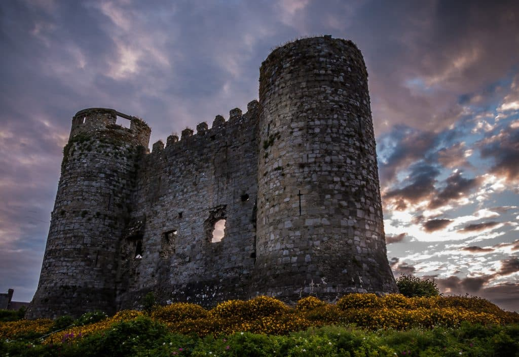 Carlow Castle is an incredible 13th-century castle.