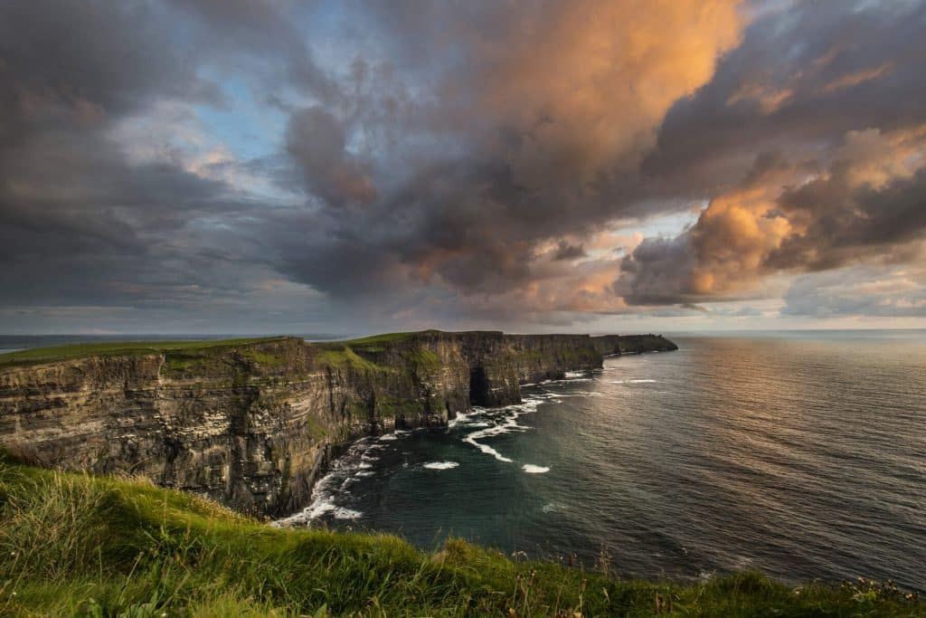 The highlights of the Cliffs of Moher.