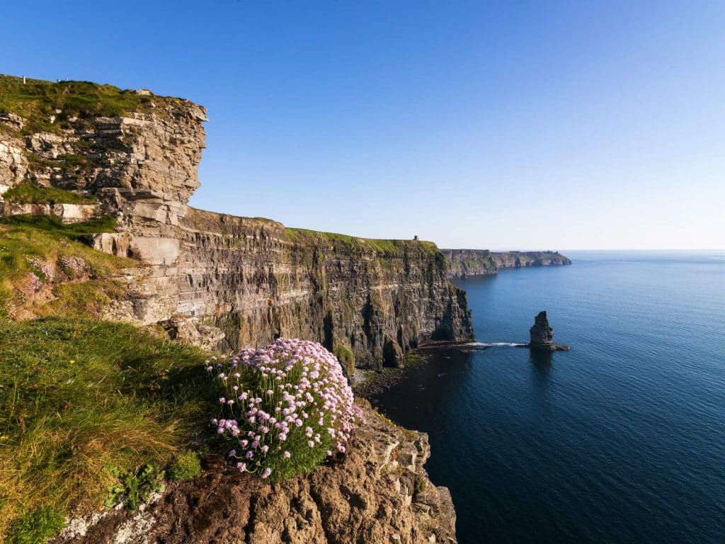 Cliffs of Moher are one of the most iconic sights in Ireland.