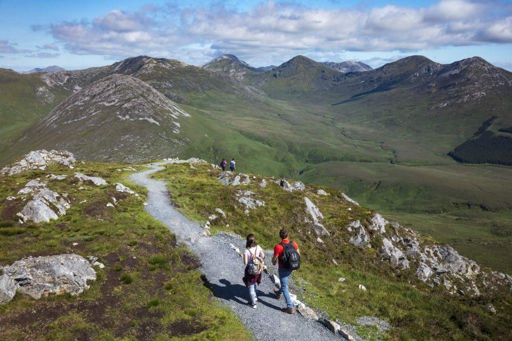 Diamond Hill is Connemara's great loop trail.
