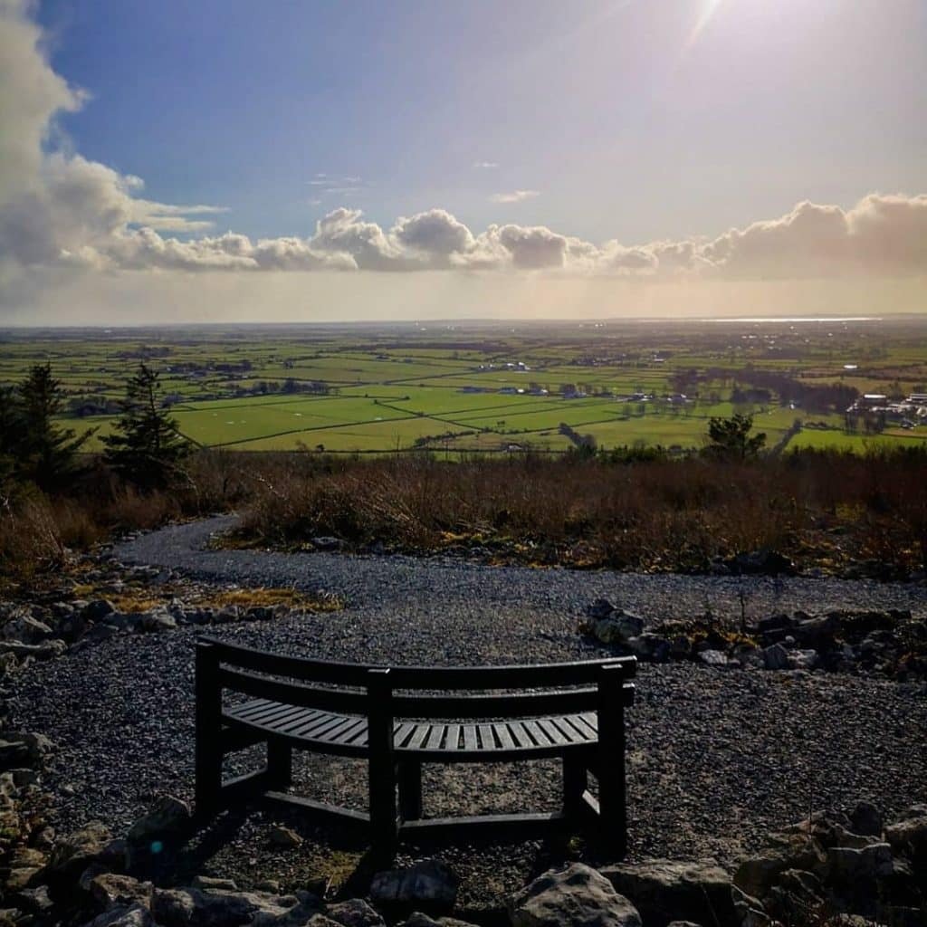 Knockma Hill is one of the best panoramic views in Galway.