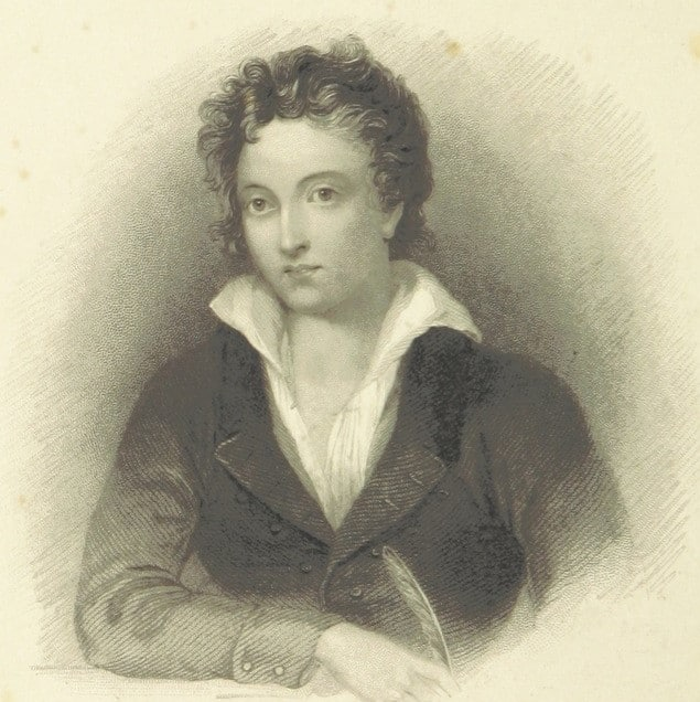 Percy Shelley is one of the most famous poets all Irish students will remember from school essays.