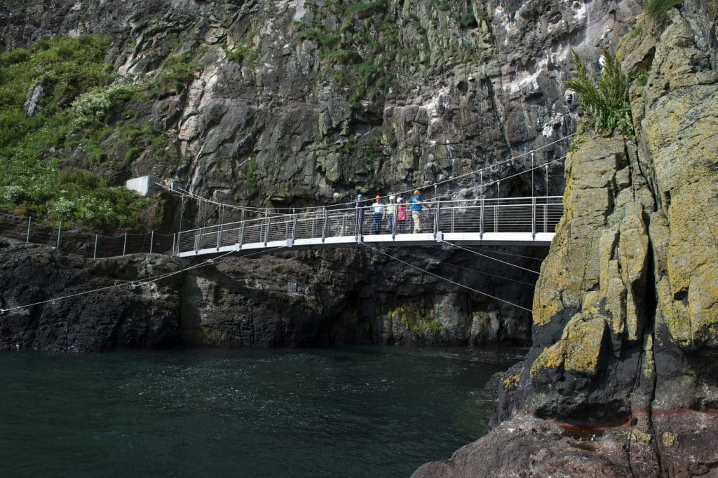 The Gobbins Walk is a must visit.