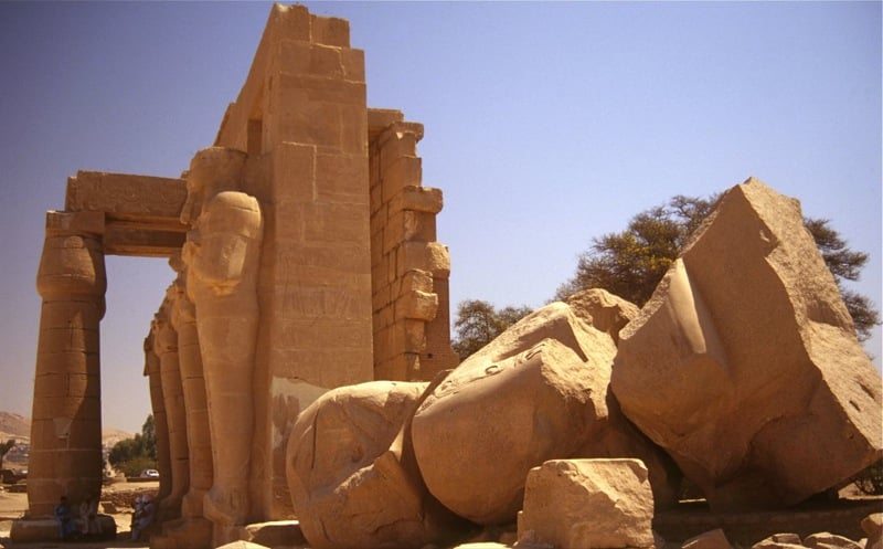 Famous poems all Irish students will remember from school essays includes 'Ozymandias'.