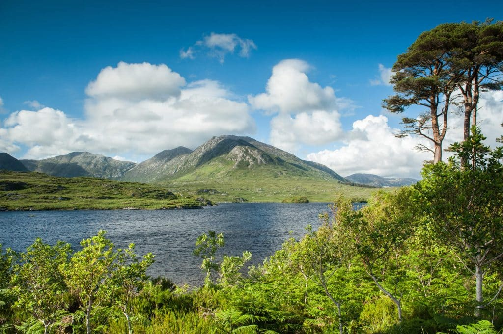 The Twelve Bens are some of the best walks in County Galway.