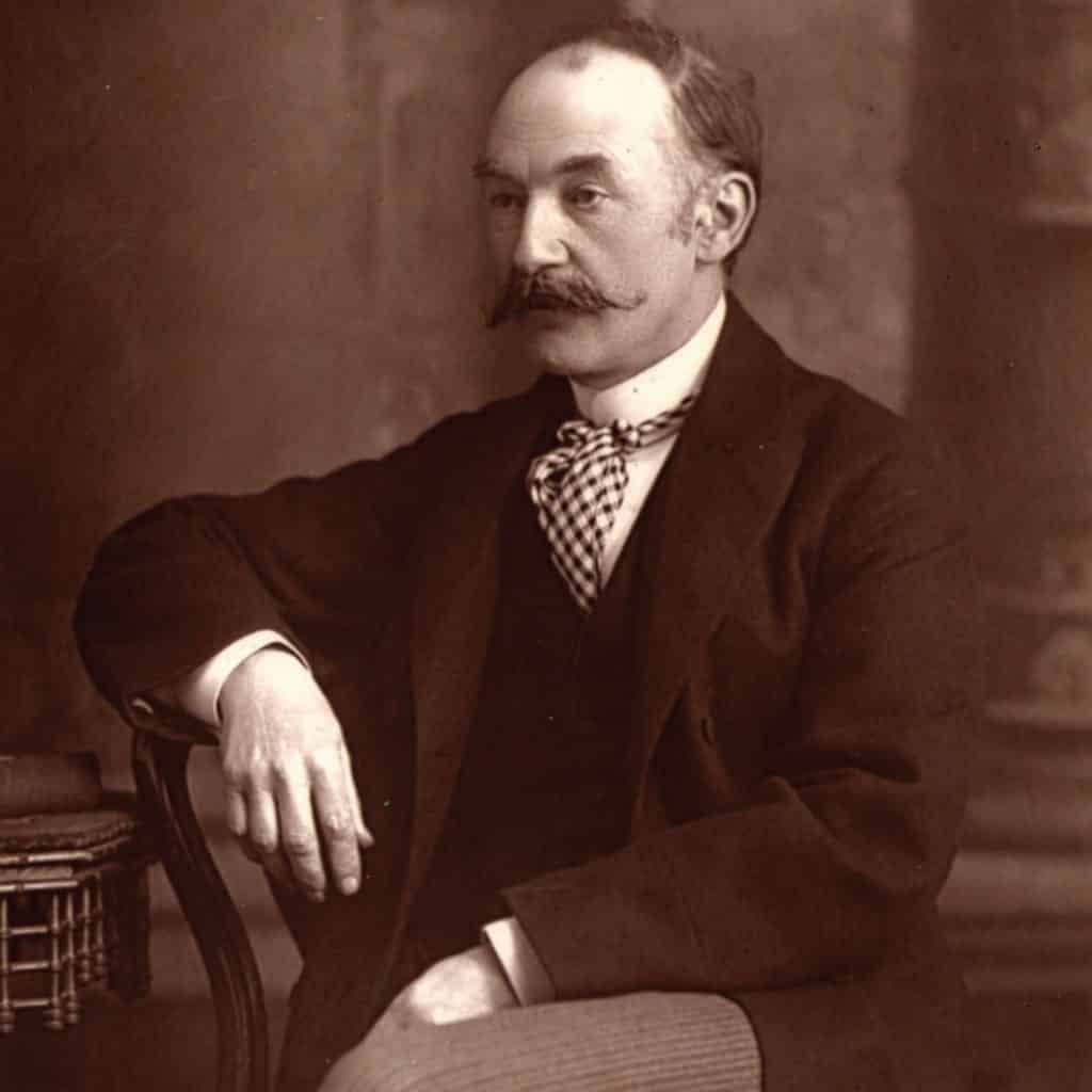 One of the poets all Irish students will remember from school is Thomas Hardy.