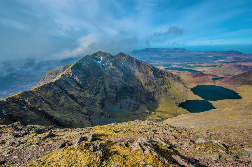 Carrauntoohil is a great spot for adventure loving couples.