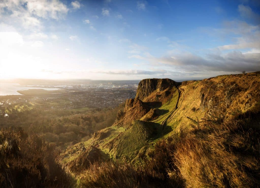 Cave Hill is one of the scenic walks in Northern Ireland.