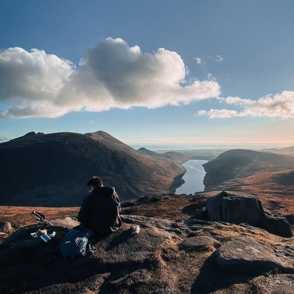 Slieve Doan is one of the best Mourne Mountain walks.