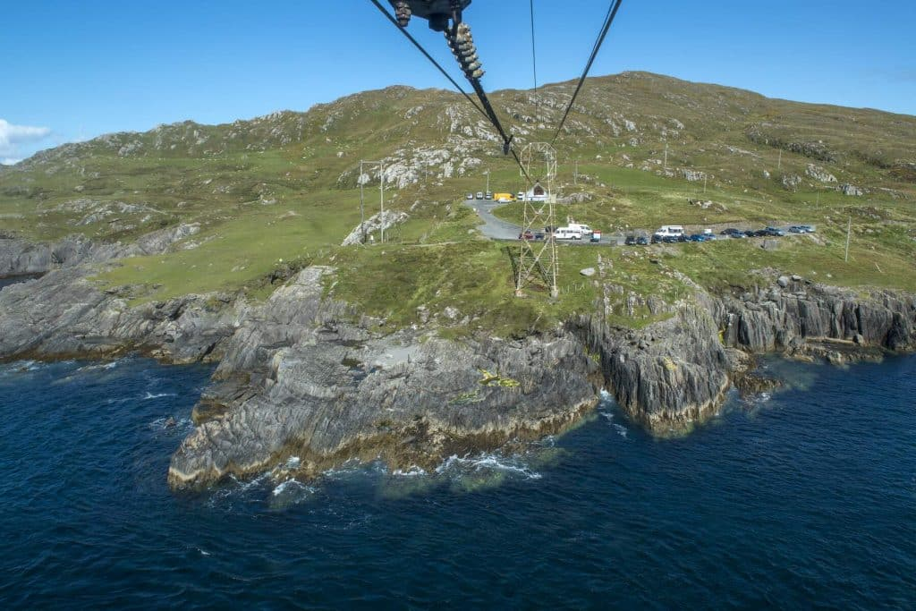 Check out the Dursey Island Cable Car.