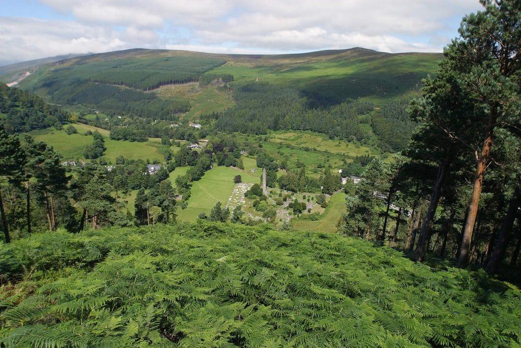Incredible views from the Glendalough Walk.