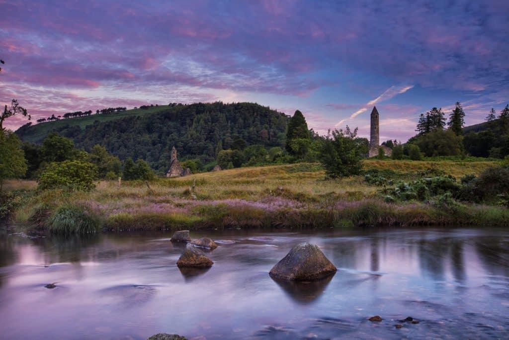 Glendalough is an Early Medieval monastic settlement.
