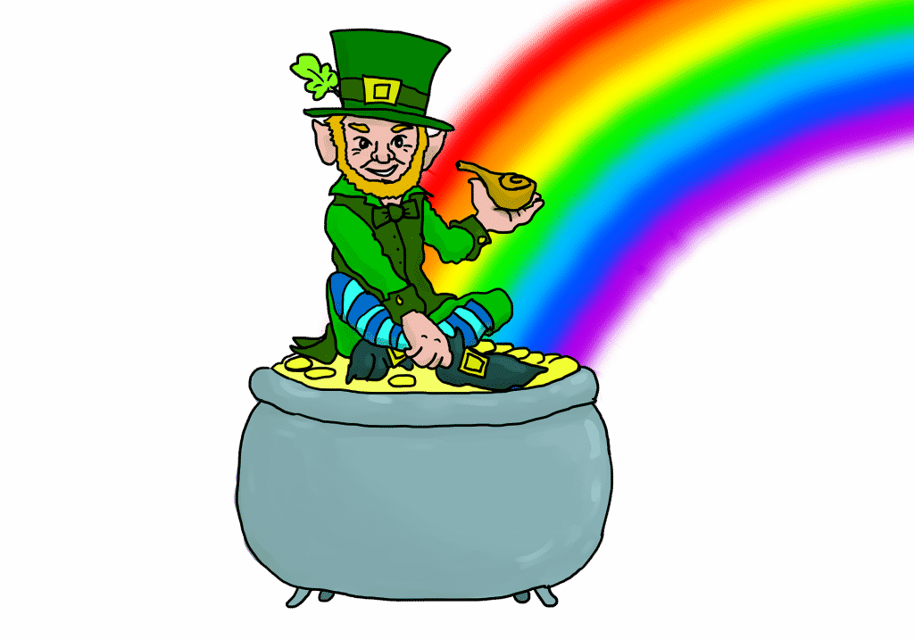 One of the things you never knew about leprechauns is that they owe their name to their tiny size.