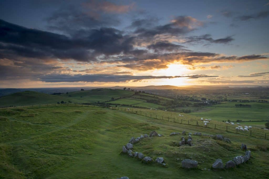 Loughcrew Carins is one of the most epic ancient sites in Ireland.