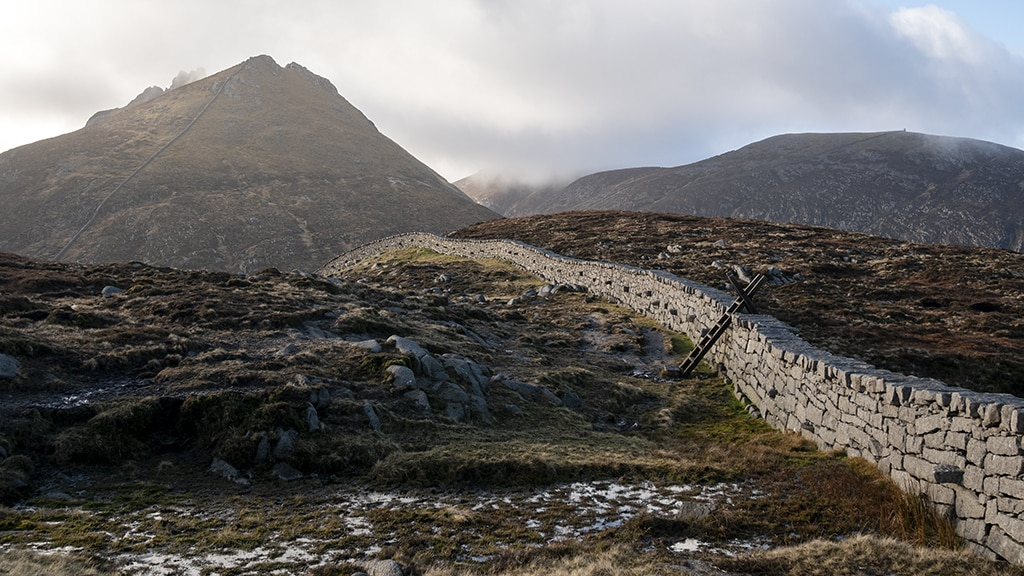 You need to do the Mourne Wall Walk.