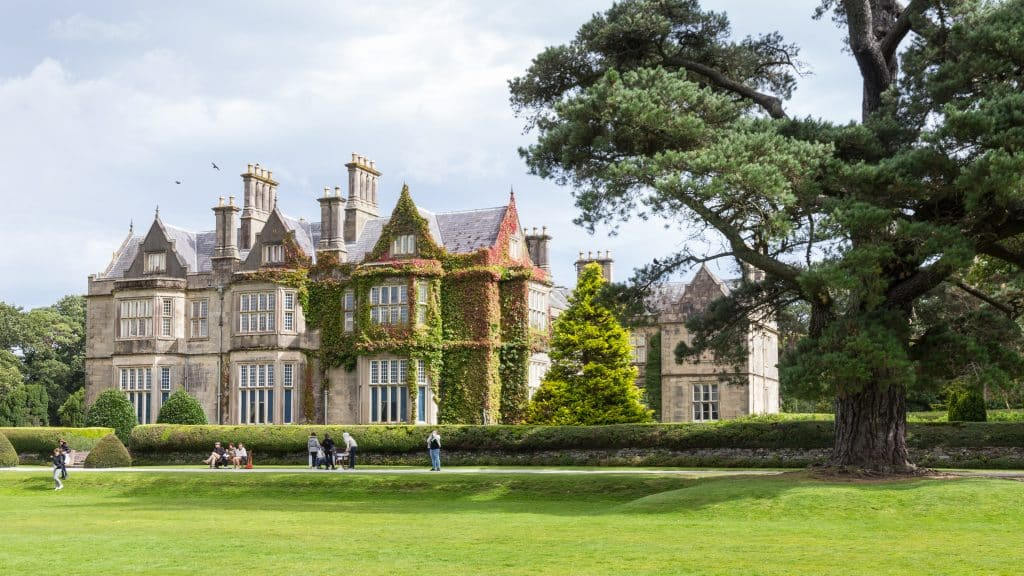 You can't miss Muckross House.