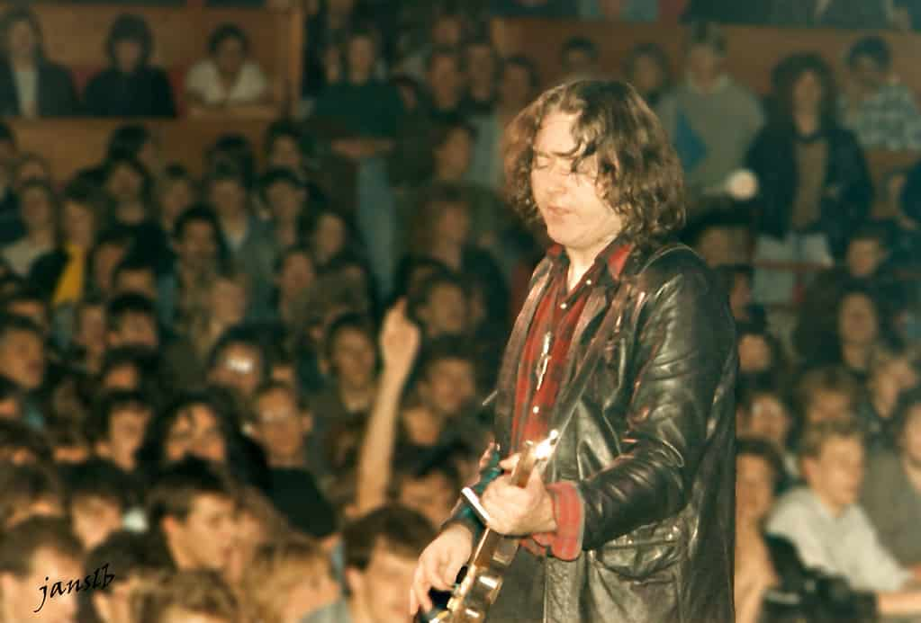 One of the facts about Rory Gallagher is that he remembers his Belfast gig as one of his best.