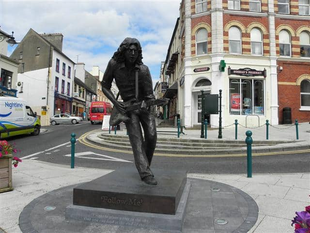 One of the Rory Gallagher facts you never knew is there are plenty of memorials to him all over Ireland.