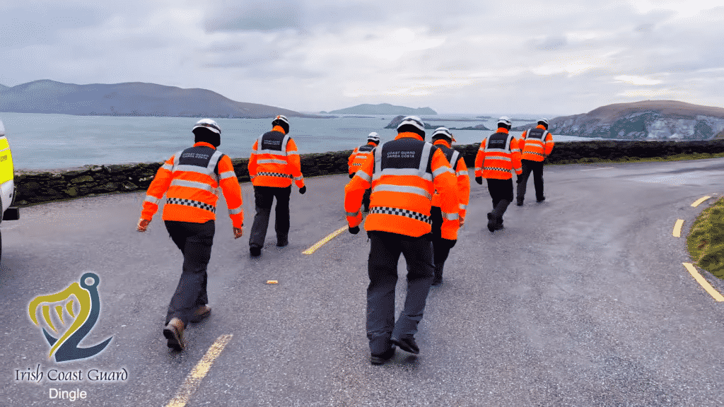 Not a foot out of place as the Dingle Coast Guard take on the Jerusalema dance trend.