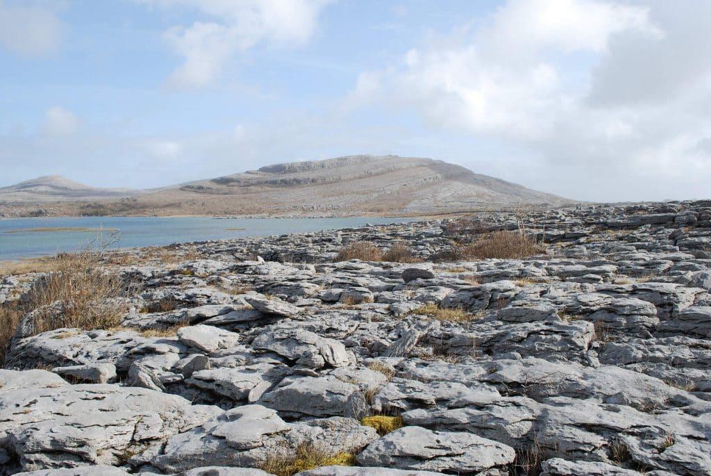 The Burren in County Clare.