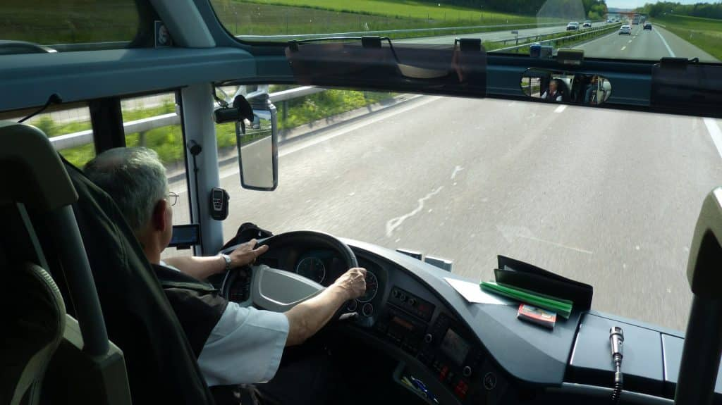 Irish bus driver's heart warming preparation for kids' return to school