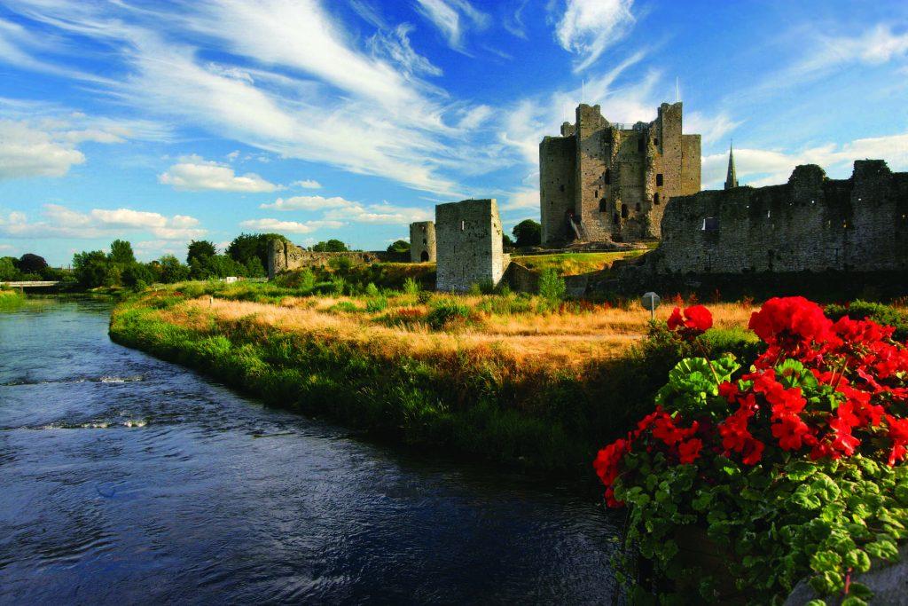 Trim Castle is an impressive castle.