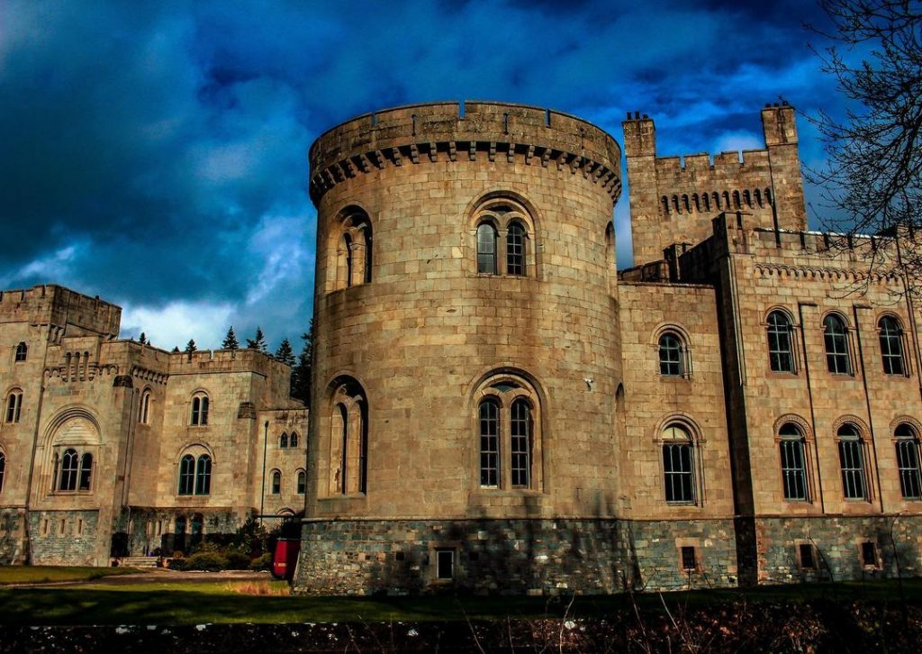 Check out Gosford Castle.
