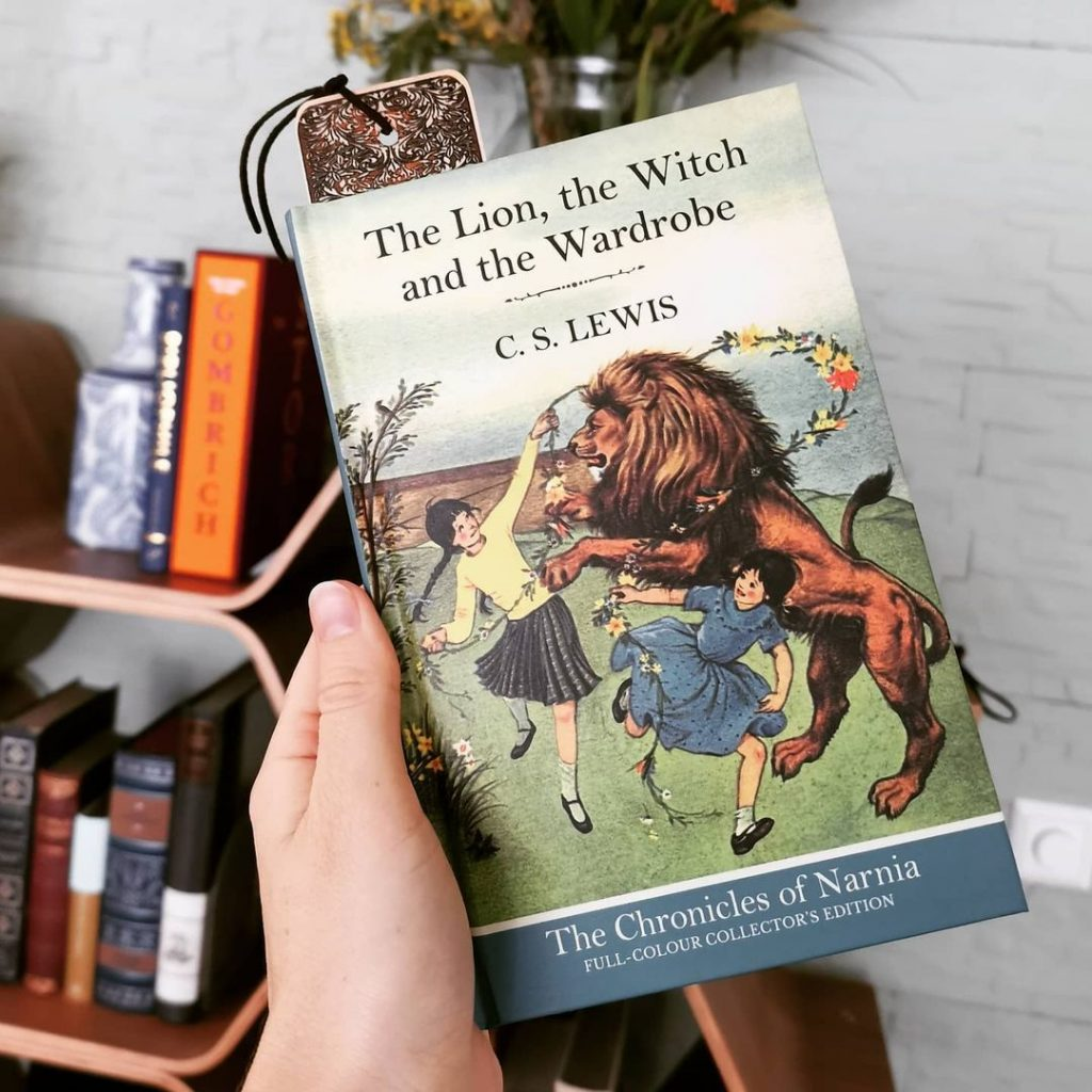 The Lion, the Witch, and the Wardrobe is a great book for all ages.