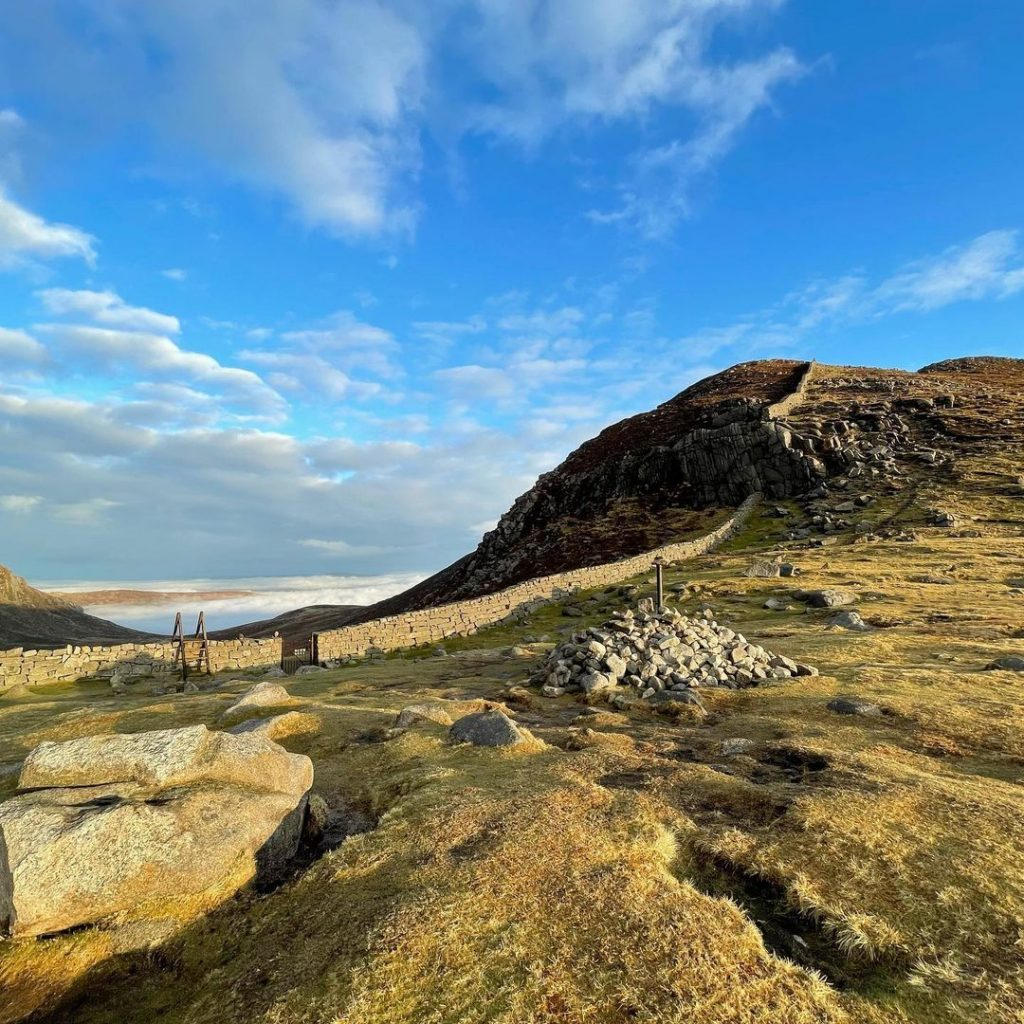 Hare's Gap is a beautiful Mourne walk.