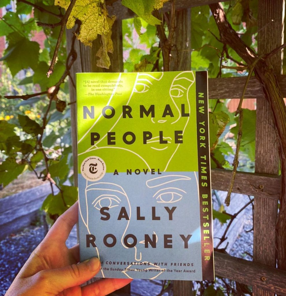 Normal People by Sally Rooney is one of the must-read Irish books.