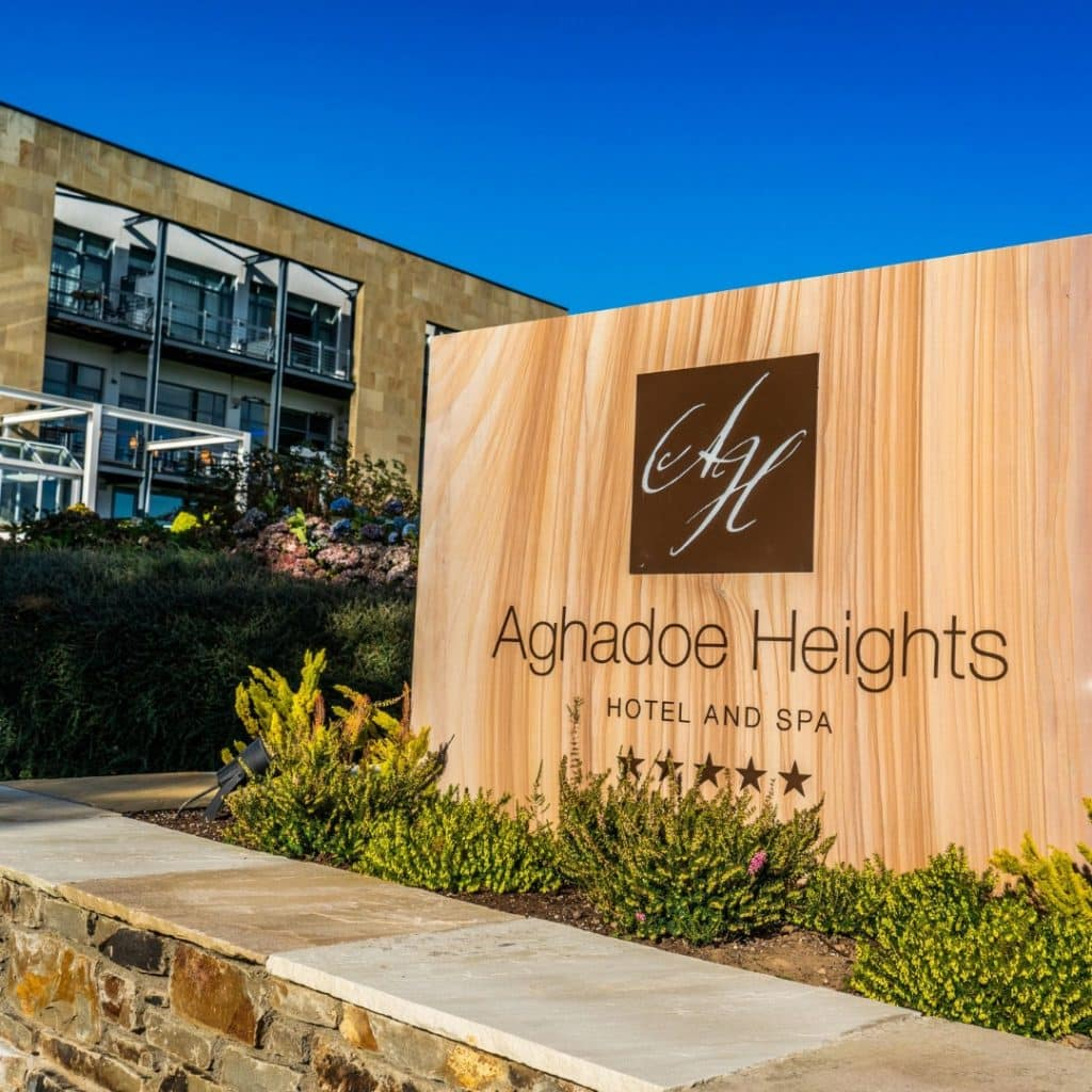 Aghadoe Heights Hotel and Spa is a must visit.