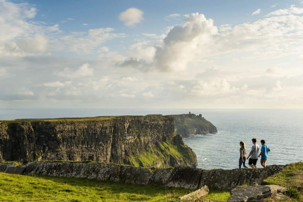 How long is the Cliffs of Moher Cliff Walk?