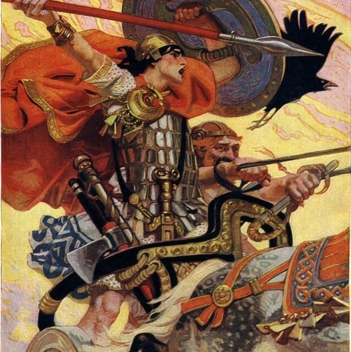 Cu Chulainn was the champion of Ulster.