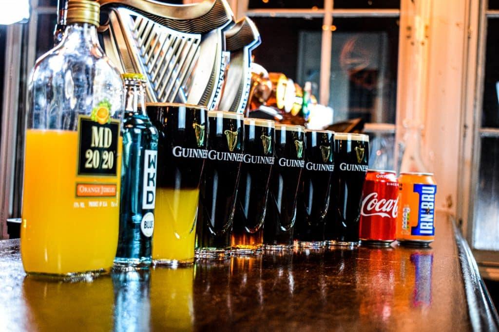 Strange Guinness combinations.