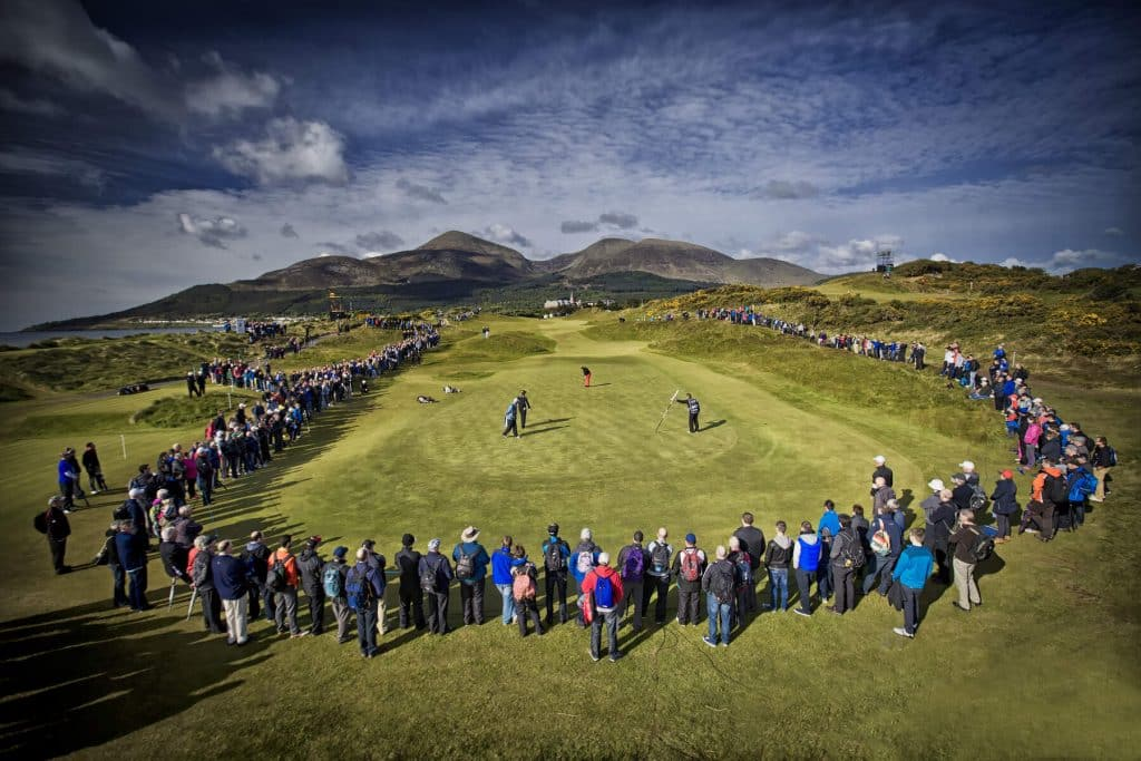Top tournaments for golfing in Ireland.