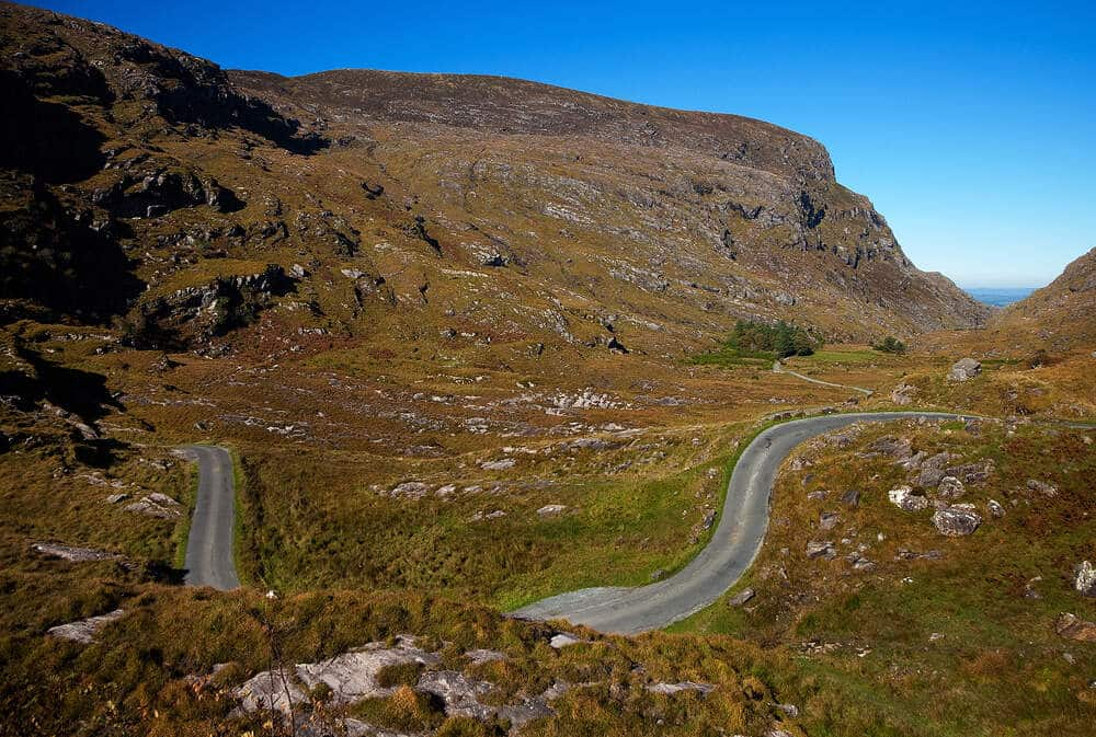 The Gap of Dunloe is definitely one of the most dangerous roads in Ireland.