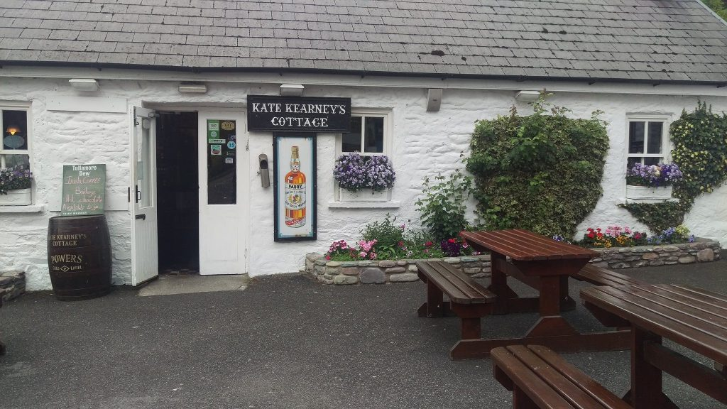 Grab a bite to eat at Kate Kearney's.
