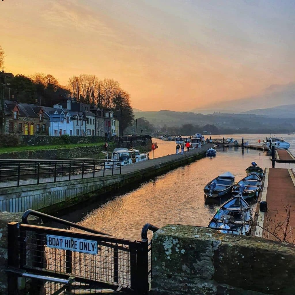 Killaloe is one of the best places in Ireland to staycation this September.