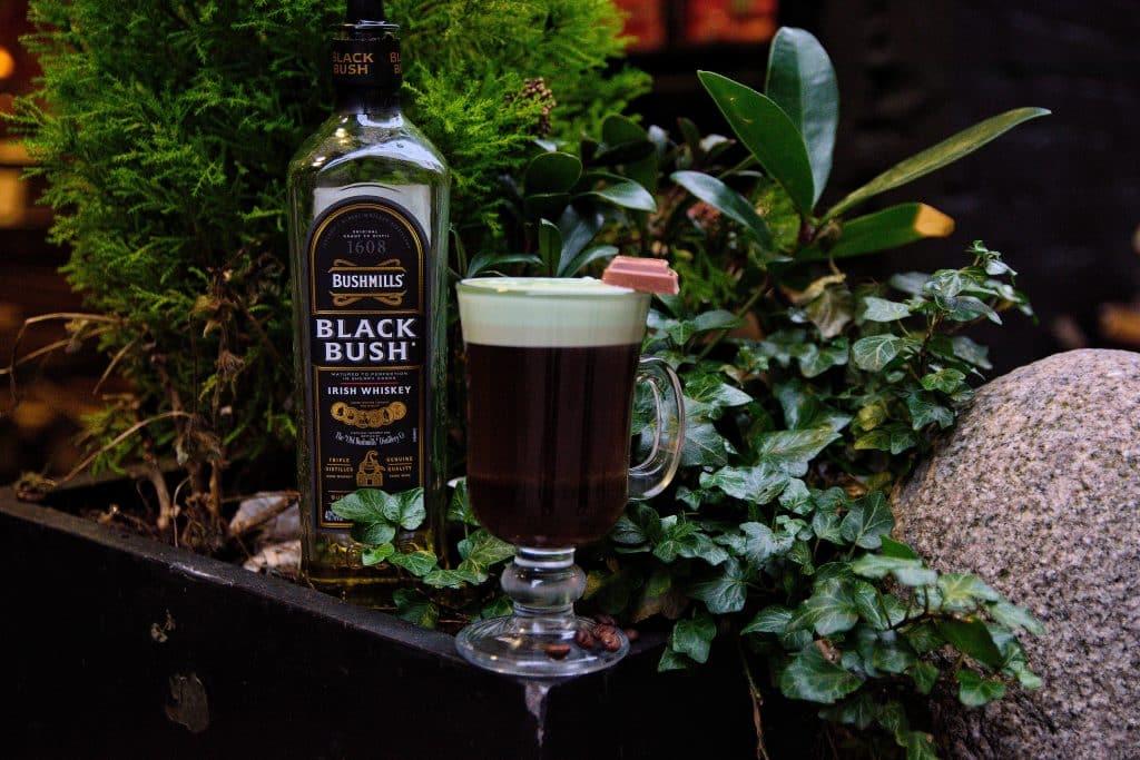 Mint Irish Coffee is a twist on the classic.