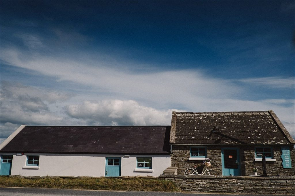Grab a bite to eat at Moher Cottage.