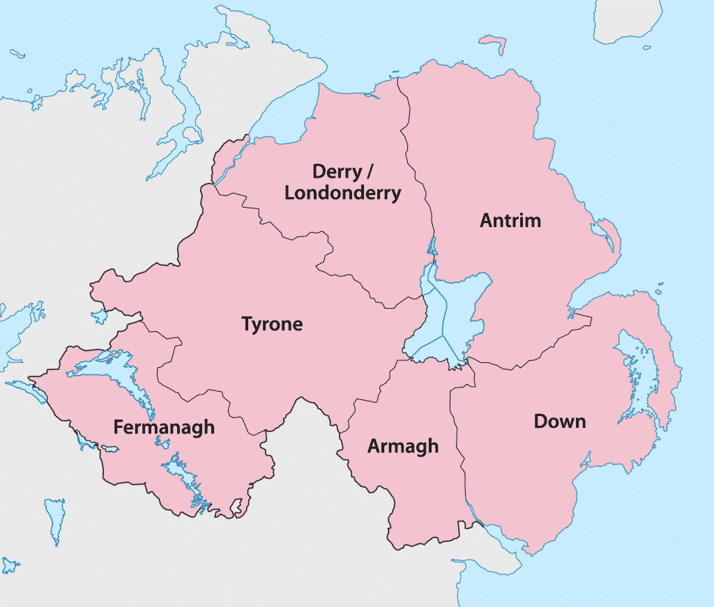There are more cities in Northern Ireland than the Republic.