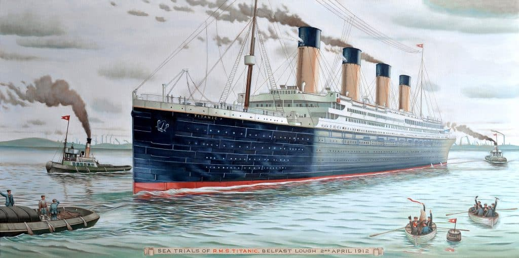 First up on our list of facts about the Titanic you never knew.