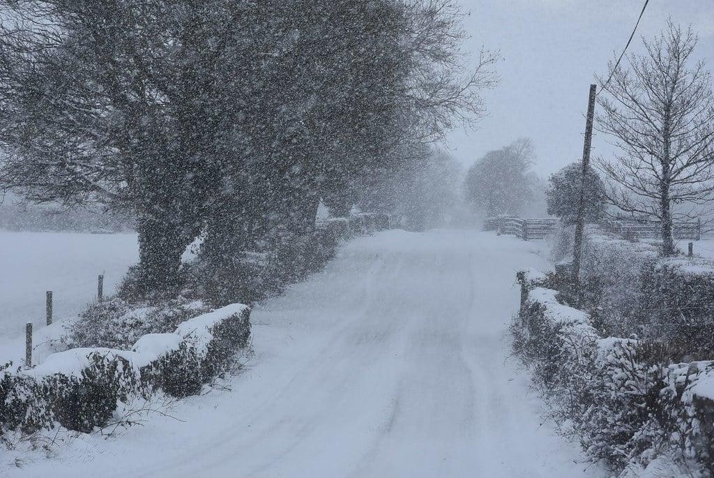 Met Eireann forecast snow.