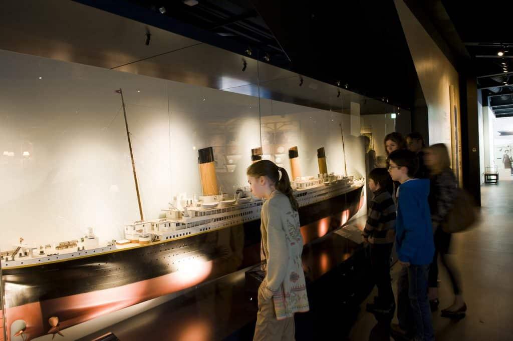 When to visit Titanic Belfast.