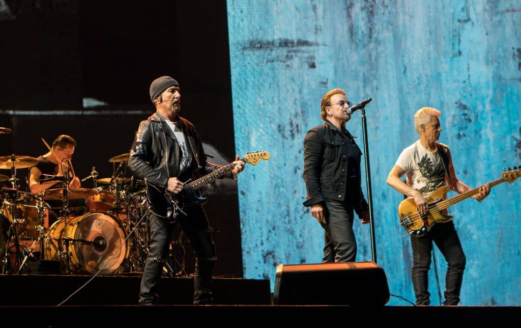 U2 to broadcast four online concerts from St Patrick's Day.