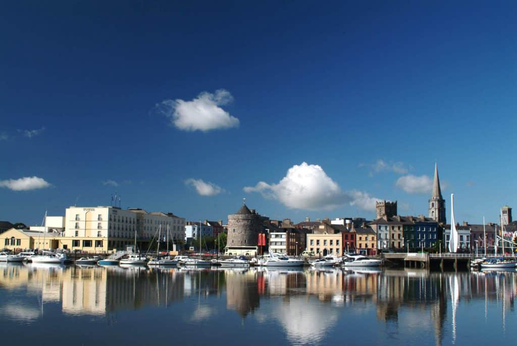 Waterford is well known for its crystal.
