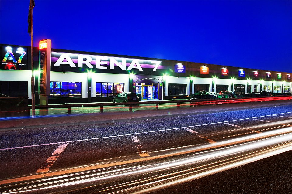 Arena7 is a great entertainment complex.